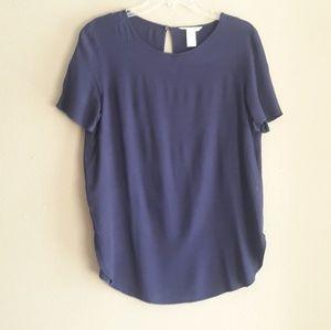 H&M Women Blue Blouse Size 10